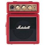 Ficha técnica e caractérísticas do produto Mini Amplificador P/ Guitarra Marshall - MS-2R Red - AP0097