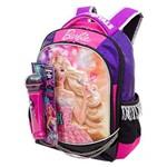Ficha técnica e caractérísticas do produto Mochila Barbie Rock N Royals G Roxo 064345 48