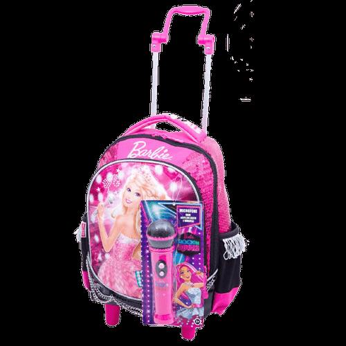 Ficha técnica e caractérísticas do produto Mochila com Carrinho Barbie Rock'n Royals 64343-08 - Sestini 1022283
