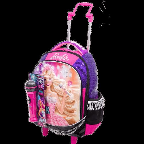 Ficha técnica e caractérísticas do produto Mochila com Carrinho Barbie Rock'n Royals 64342-48 - Sestini 1022282
