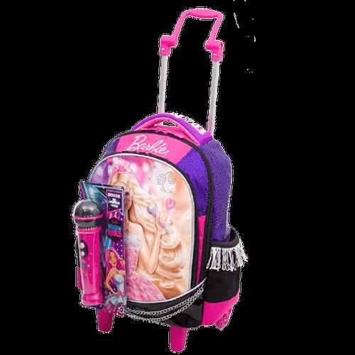 Ficha técnica e caractérísticas do produto Mochila com Carrinho Barbie Rock'n Royals 64343-48 - Sestini 1022284