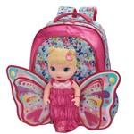 Ficha técnica e caractérísticas do produto Mochila Costas G Baby Alive Butterfly - G