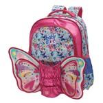 Ficha técnica e caractérísticas do produto Mochila Costas G Baby Alive Butterfly - Grande - Facific