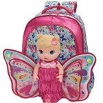 Ficha técnica e caractérísticas do produto Mochila Costas M Baby Alive Butterfly - M REF 980B05
