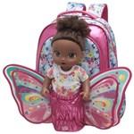 Ficha técnica e caractérísticas do produto Mochila Costas M Baby Alive Butterfly