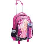Ficha técnica e caractérísticas do produto Mochila de Carrinho Barbie Rock N Royals Gd 3 Bolsos Sestini