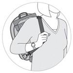 Ficha técnica e caractérísticas do produto Mochila de Rodinha Skip Hop Zoo - Borboleta
