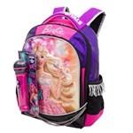 Ficha técnica e caractérísticas do produto Mochila Escolar Barbie Rock`n Royals 64345-48 - Sestini 1017161