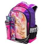 Ficha técnica e caractérísticas do produto Mochila Escolar Barbie Rock`n Royals 64346-48 - Sestini 1000454