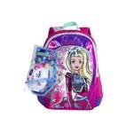 Mochila Grande Barbie Aventura Nas Estrelas - Sestini 64738