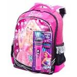 Ficha técnica e caractérísticas do produto Mochila Grande Barbie Rockâ´N Royals - Sestini 064345