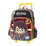 Mochila Harry Potter com Rodas Preta