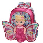 Ficha técnica e caractérísticas do produto Mochila Infantil Costas G Baby Alive Butterfly Feminina