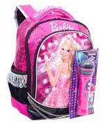 Ficha técnica e caractérísticas do produto Mochila Média Barbie Rock N' Royals Rosa Original Sestini