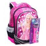 Ficha técnica e caractérísticas do produto Mochila Média Barbie Rock N Royals Rosa - Sestini