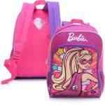 Mochila S/ Rodinha Barbie Princess Power Sestini