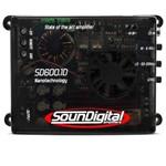 Modulo Amplificador Soundigital Sd600.1 600w Rms 1 Ohm