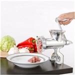 Moedor de Carne Maquina de Moer Manual em Aluminio N10 Cozinha Criativa