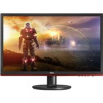"Ficha técnica e caractérísticas do produto Monitor 24"" LED Full HD Widescreen 75Hz Preto AOC"