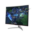"Monitor Gamer Entusiasta Aoc Ag322fcx/75 31.5"" Led 1920x1080 Wide Vga Dvi Hdmi Dp"