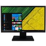 """Ficha técnica e caractérísticas do produto Monitor LED 19,5"""" Acer V206HQL, 1,5Ms - Preto"""