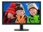 """Monitor Philips Tela LCD 23,6"""" Full HD - Widescreen V 243V5QHAB"""
