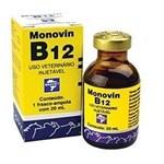 Ficha técnica e caractérísticas do produto Monovin B12 20ml Bravet