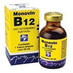 Ficha técnica e caractérísticas do produto Monovin B12 Injetável Bravet 20 Ml
