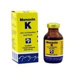 Ficha técnica e caractérísticas do produto Monovin K Injetável 20 Ml - Bravet