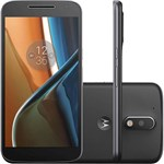 Ficha técnica e caractérísticas do produto Smartphone Motorola Moto G4 Dual Chip Android 6.0 Tela 5.5'' 16GB Câmera 13MP - Preto