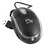 Mouse com Fio USB 800Dpi Classic Preto MO179 Multilaser