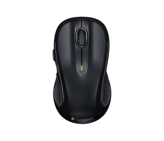 Mouse Logitech M510 Wireless 5 Botoes Preto, 910-001822