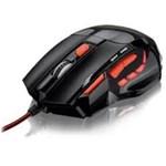 Ficha técnica e caractérísticas do produto Mouse Óptico Xgamer Fire Button Usb 2400Dpi Preto e Vermelho - Mo236