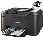 Ficha técnica e caractérísticas do produto Multifuncional Canon Jato de Tinta Color Maxify MB2110 (Wi-Fi) - 0959C042AA