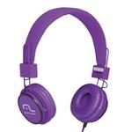 Ficha técnica e caractérísticas do produto Multilaser Headphone Head Fun com Microfone P2 3,5mm Hi-Fi Ph090 Roxo