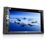 Multilaser Som Automotivo Zion Lcd 6.2´ Entrada Auxiliar Usb, Sd,Cd/Dvd Player P3307