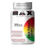 Ficha técnica e caractérísticas do produto Multimax Complex 90 Cápsulas Max Titanium - Max Titanium