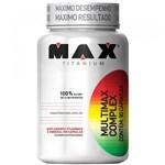 Ficha técnica e caractérísticas do produto Multimax Complex 90 Cápsulas - Max Titanium - Max Titanium