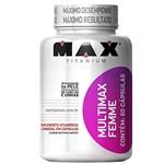 Ficha técnica e caractérísticas do produto Multimax Femme - 60 Capsulas - Max Titanium