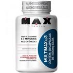 Ficha técnica e caractérísticas do produto Multimax W3 com 30 Cápsulas - Max Titanium - Max Titanium
