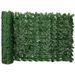 Ficha técnica e caractérísticas do produto Muro Inglês com Folha de Ficus Artificial Tamanho 2mts X 1mt