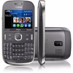 Nokia Asha 302 + Wi-Fi + 3g + 3.2 Mpx Desbloqueado Cinza