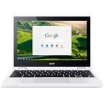 Ficha técnica e caractérísticas do produto Notebook Acer Chromebook CB5-132T-C9F1, Intel Celeron, Tela, 11.6'', Memória 4GB, Chrome Os™ - Branc