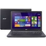 "Notebook Acer E5-571-52ZK Intel Core I5 4GB 500GB Tela LED 15.6"" Windows 8.1 - Preto"