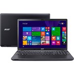 Notebook Acer E5-571-33ZU Intel Core I3 4GB 500GB LED 15,6'' Windows 8.1 - Preto