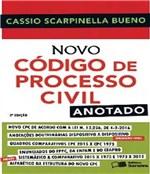 Ficha técnica e caractérísticas do produto Novo Codigo de Processo Civil - Anotado - 02 Ed - Saraiva