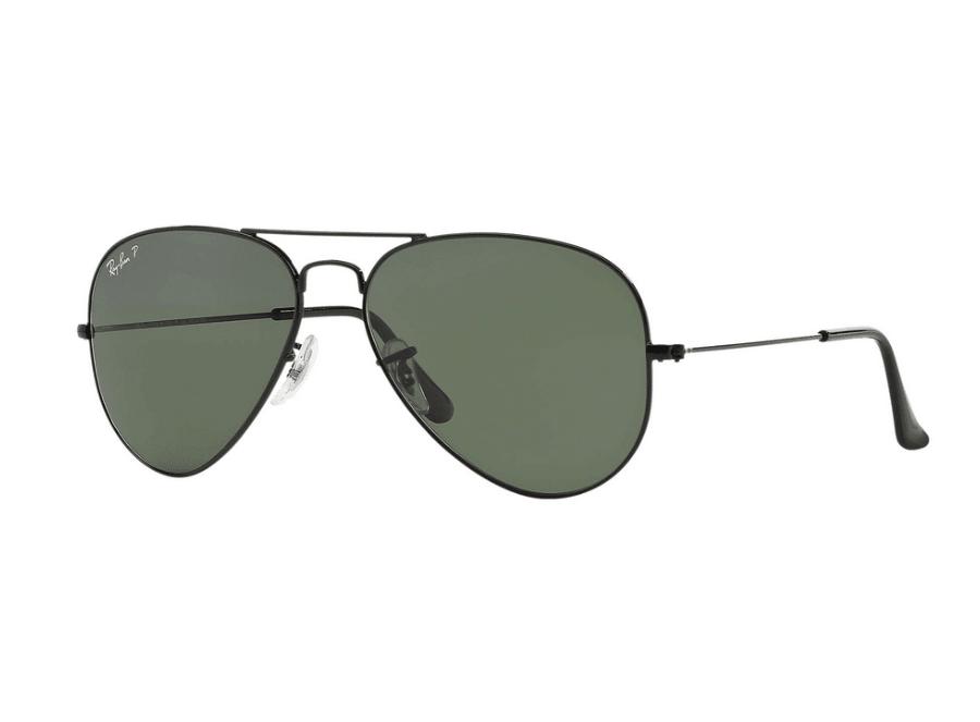 Ficha técnica e caractérísticas do produto Óculos de Sol Ray Ban Rb3025L 002/58 (Verde, Preta, Polarizadas)