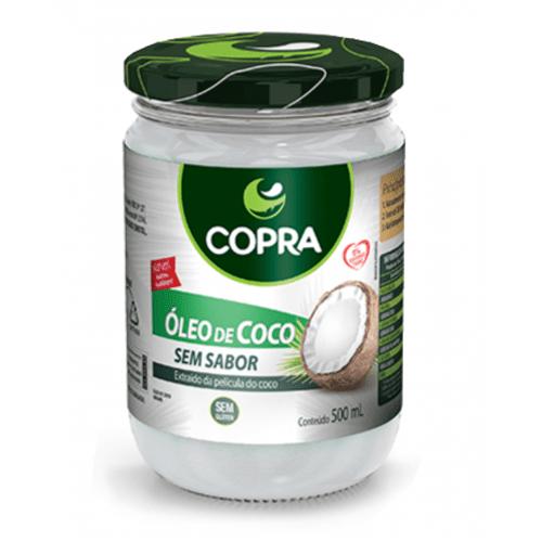 Ficha técnica e caractérísticas do produto Óleo de Coco Sem Sabor 500ml - Copra