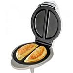 Ficha técnica e caractérísticas do produto Omeleteira Cadence Egg 1000W Oml100 Branca - 127V