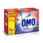 Ficha técnica e caractérísticas do produto Omo Multiação Detergente em Pó 1,8kg